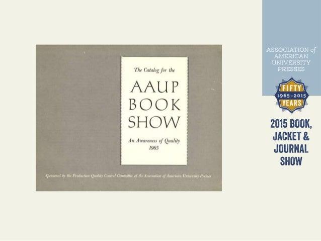 AAUP Design Show: 50 Years Slide 3
