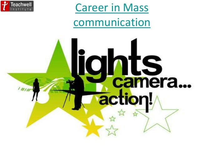 Career in Mass communication