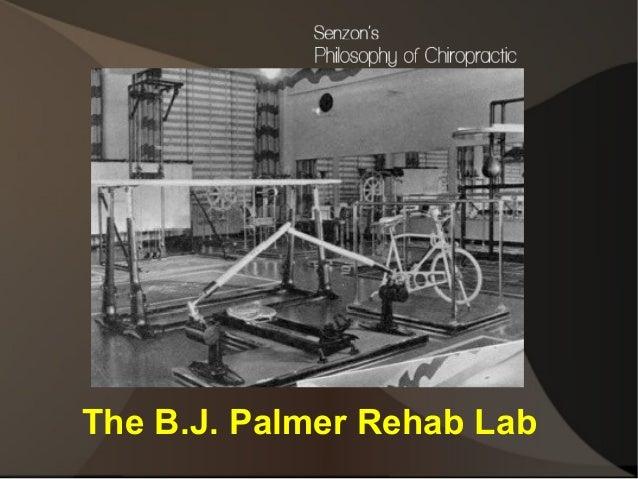 The B.J. Palmer Rehab Lab