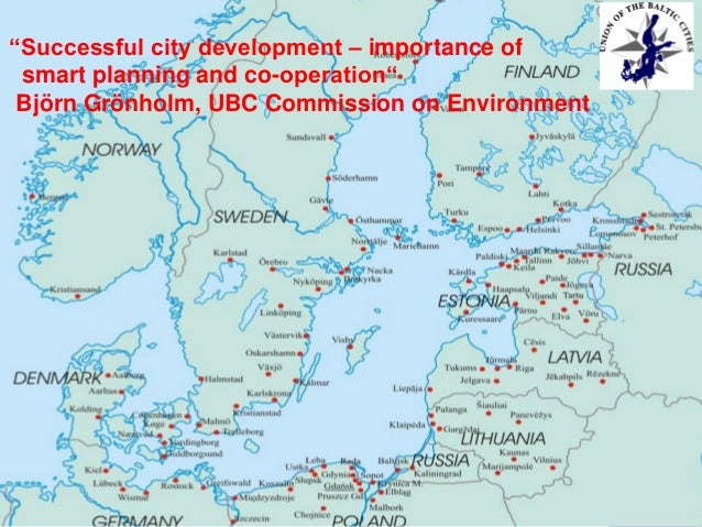 """Successful city development – importance of smart planning and co-operation"" Björn Grönholm, UBC Commission on Environmen..."