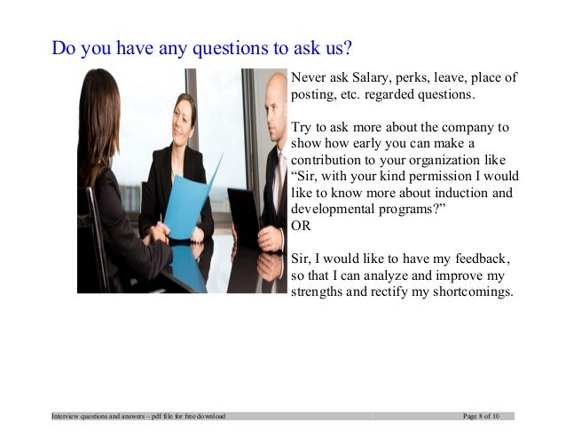 Bj services company interview questions and answers