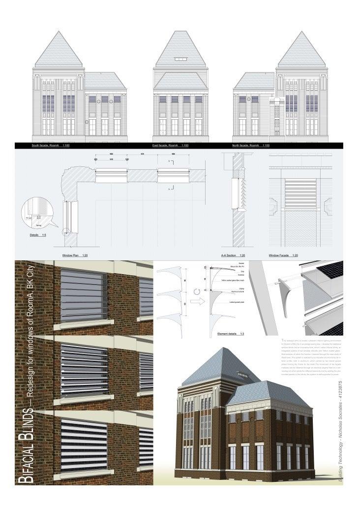 BK City - TU Delft - Redesign with Sun Shades