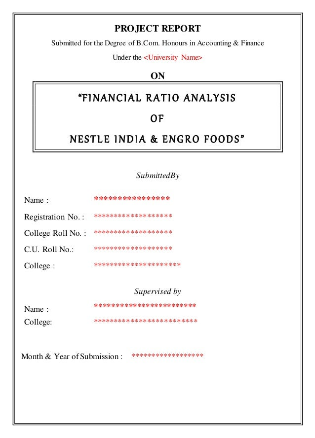 analysis of financial ratios of dlf A summary of key financial ratios how they are calculated and what they show profitability ratios 1 gross profit margin sales - cost of goods sold.