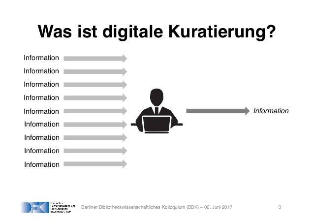 Digitale Kuratierungstechnologien: Anwendungsfälle in Digitalen Bibliotheken Slide 3