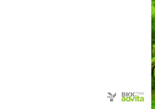 Bkk advita - Das Natürliche leben / Imagebroschüre