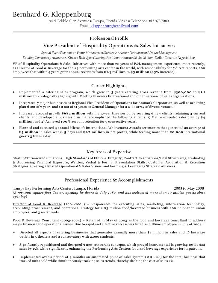 food service description resume equations solver food