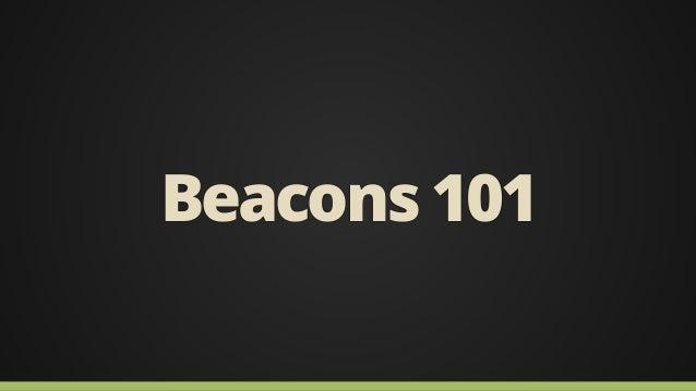 Beacon Basics Slide 2