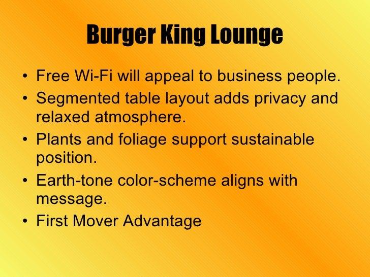 Bk Presentationtest - Fresh restaurant presentation template scheme