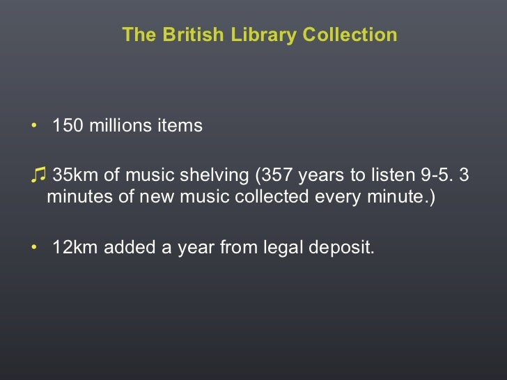 Extended Collective Licensing  - the view of a national library Slide 3