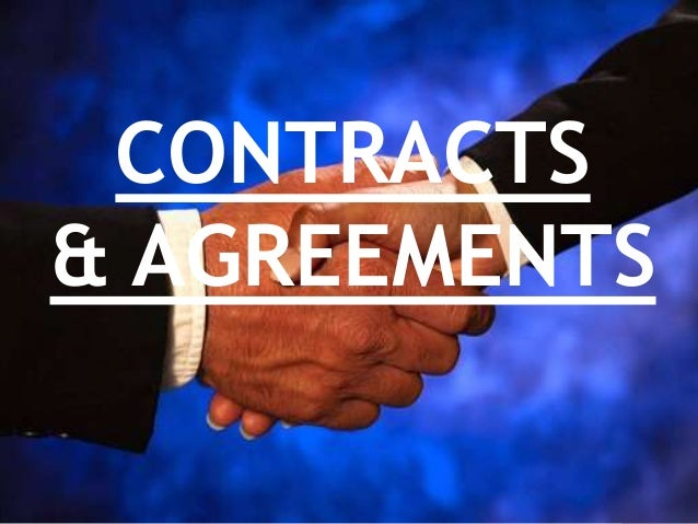 AGREEMENTS AND CONTRACTS EBOOK