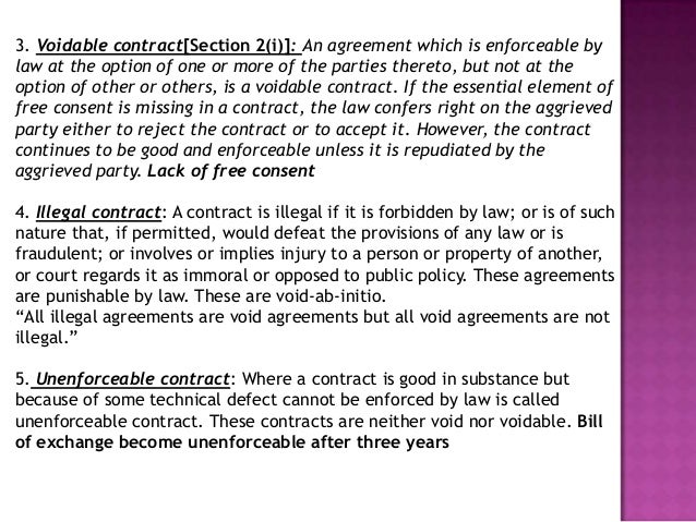 Contracts Agreements as per Business Law – Business Contract Agreement