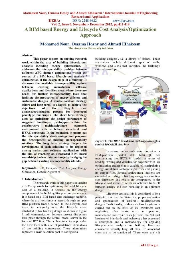 Mohamed Nour, Ossama Hosny and Ahmed Elhakeem / International Journal of Engineering                                Resear...