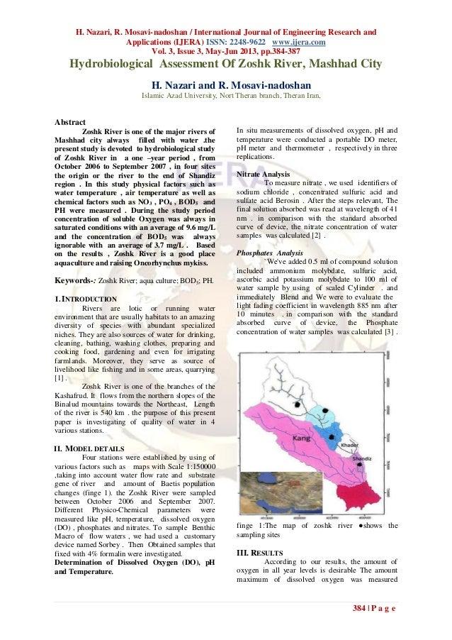 H. Nazari, R. Mosavi-nadoshan / International Journal of Engineering Research andApplications (IJERA) ISSN: 2248-9622 www....
