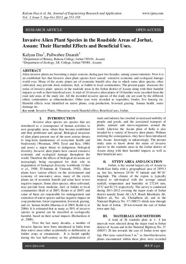 Kalyan Das et al. Int. Journal of Engineering Research and Application www.ijera.com Vol. 3, Issue 5, Sep-Oct 2013, pp.353...