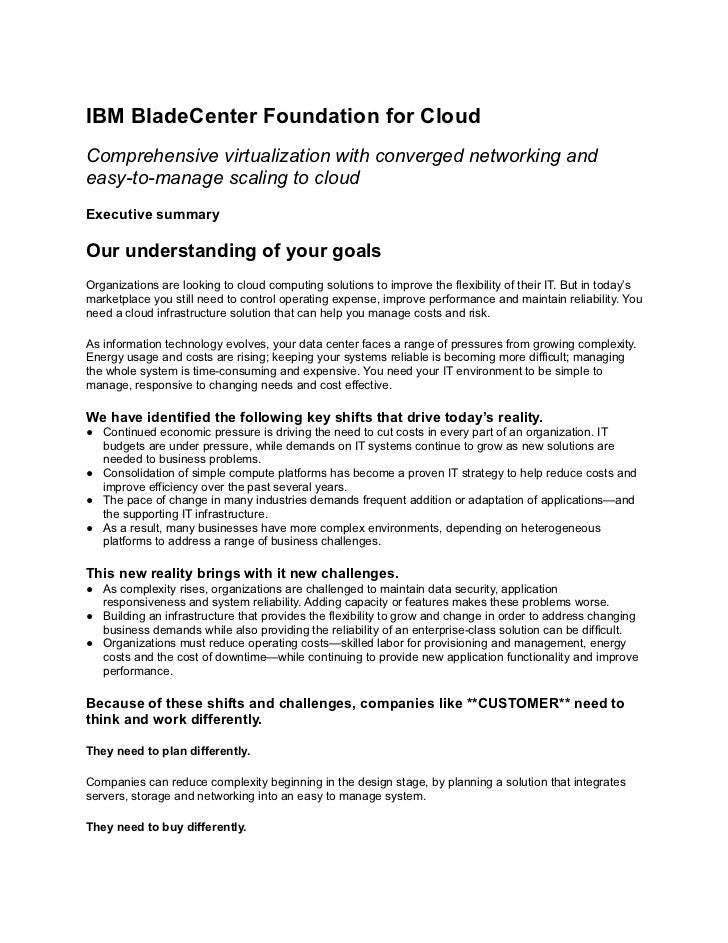 IBM BladeCenter Foundation for CloudComprehensive virtualization with converged networking andeasy-to-manage scaling to cl...