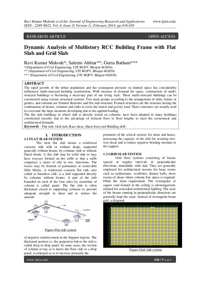 Ravi Kumar Makode et al Int. Journal of Engineering Research and Applications ISSN : 2248-9622, Vol. 4, Issue 2( Version 1...