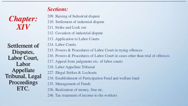 Bangladesh labour act 209-246 Slide 3