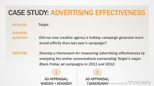 case study effectiveness of advertising 1 apple's iphone launch: a case study in effective marketing kyle mickalowski, augustana college mark mickelson, augustana.