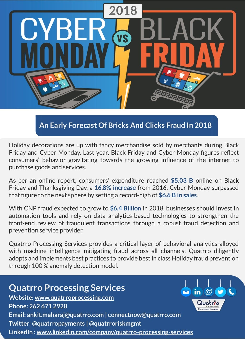 An Early Forecast of Bricks and Clicks Fraud in 2018
