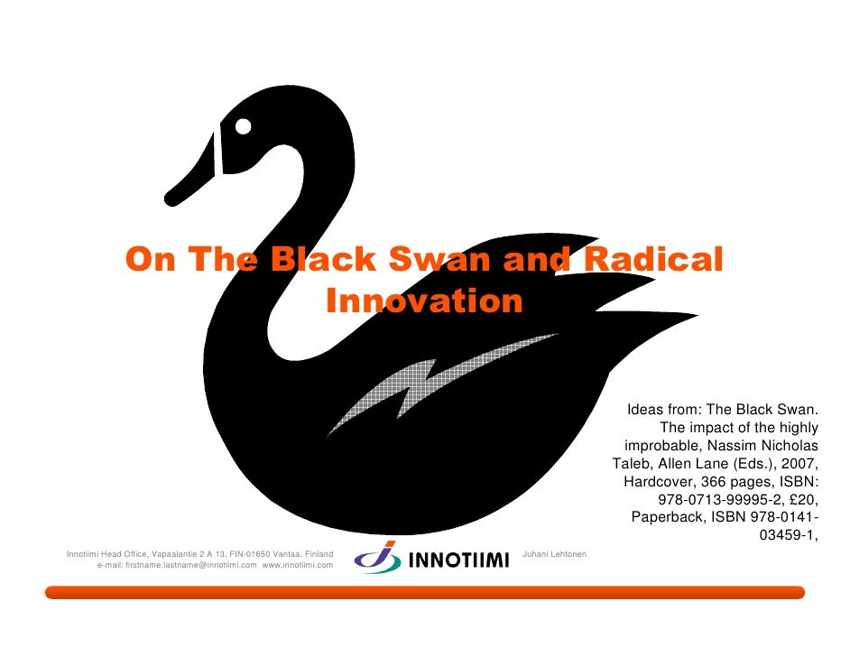 On The Black Swan and Radical                         Innovation                                                          ...