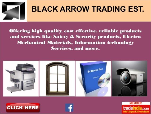 BLACK ARROW TRADING EST, Saudi Arabia