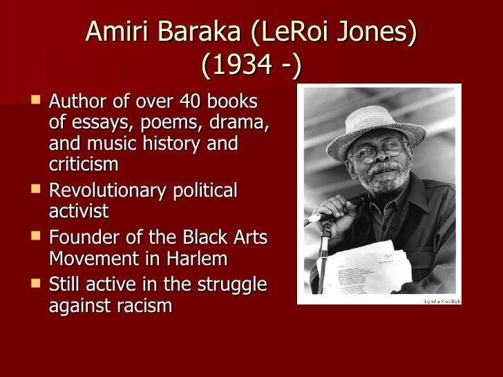 Black arts movement essay