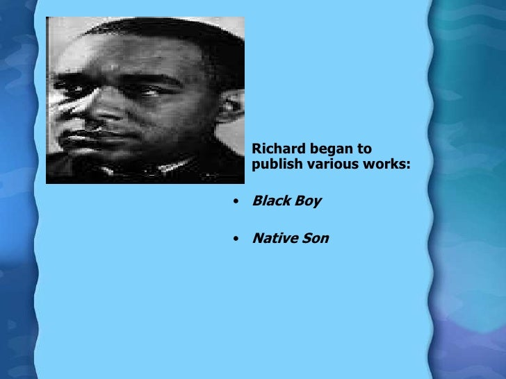 richard wright black boy Richard wright - black boy is the first documentary film on the life, work and legacy of richard wright born outside natchez, mississippi in 1908.