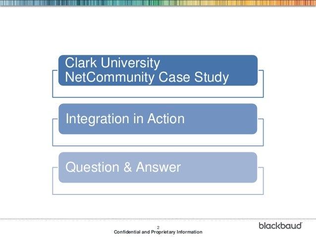 Blackbaud net community for higher education institutions Slide 2