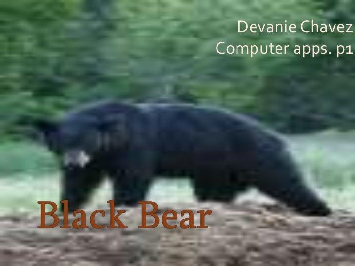 Devanie ChavezComputer apps. p1