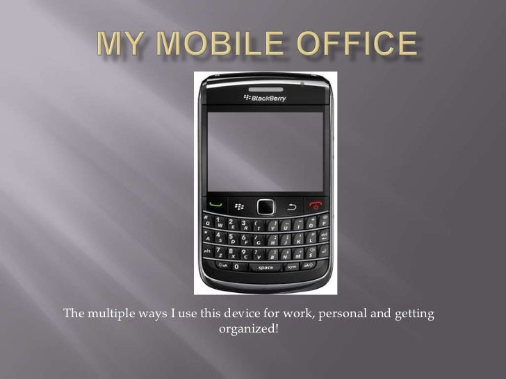 The multiple ways I use this device for work, personal and getting                            organized!
