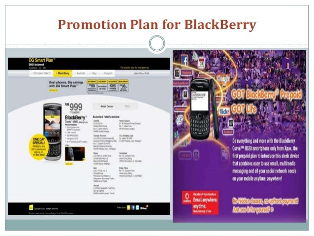 Blackberry's Current Ad and Marketing Strategy