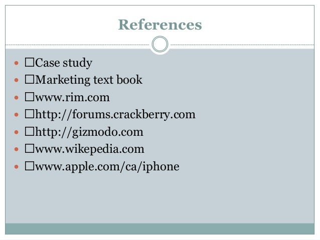 arabic blackberry case study Read 117 case studies, success stories, & customer stories of individual blackberry customers - their use cases, successful stories, approaches, and end results software.
