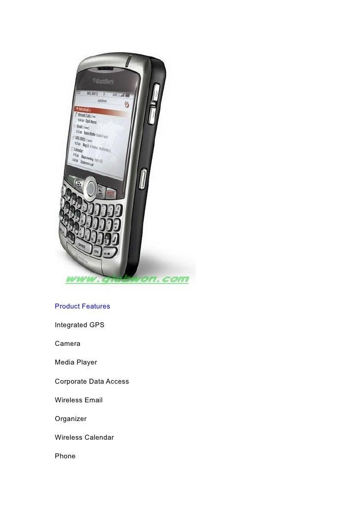 Blackberry 8310 Unlocked Cell Smart Phone