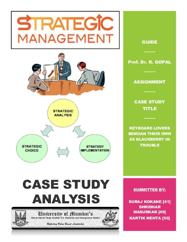 Case study interview questions and answers