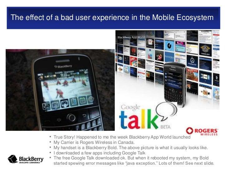 Google Talk Blackberry