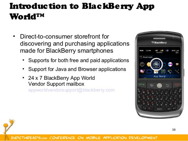 BlackBerry Development Platform - [IndicThreads Mobile Application De…