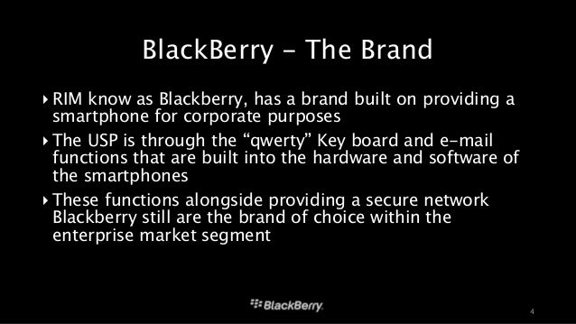 blackberry marketing report Get the latest news and analysis in the stock market today join the nasdaq community today and investors will be watching how the blackberry transition is.