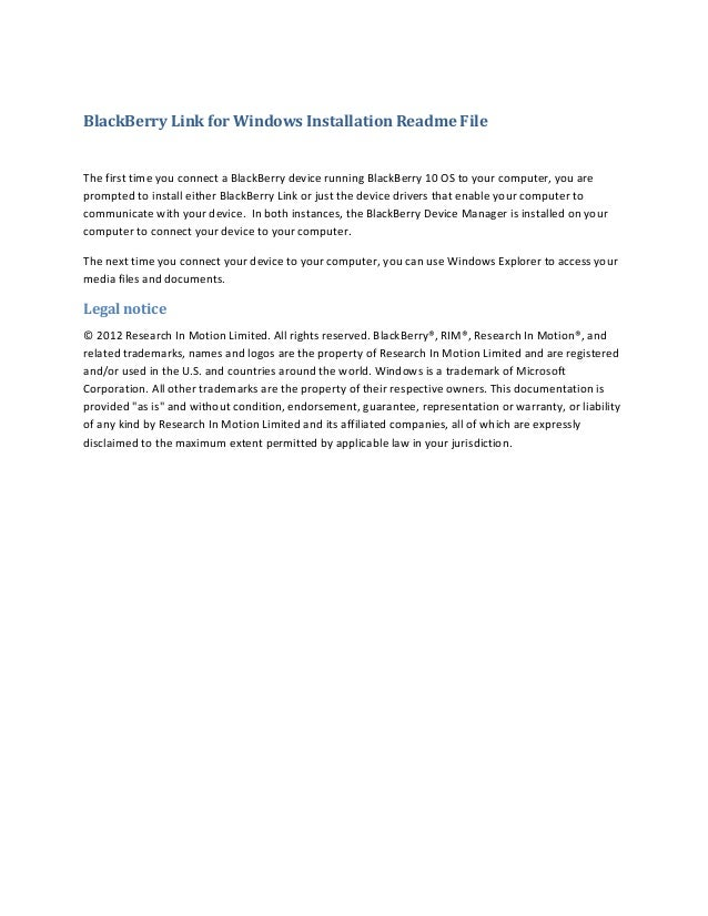 blackberry link para windows 10