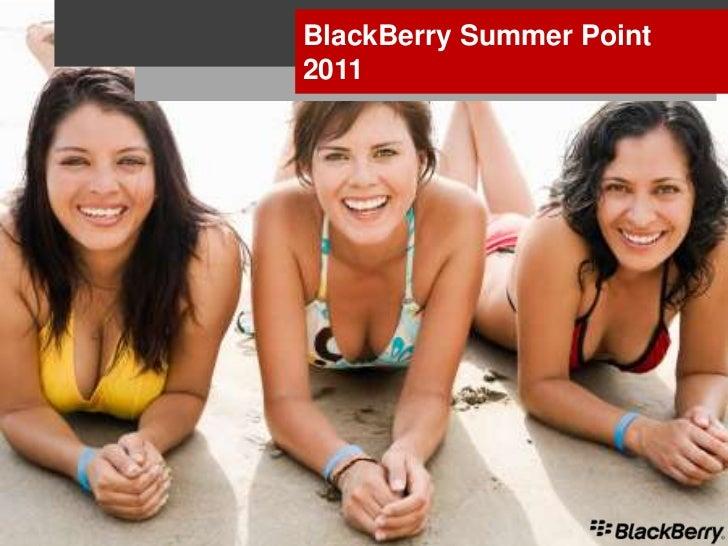 Black berry summer point