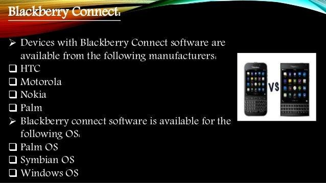 Blackberry technology