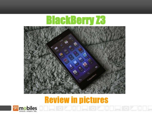 BlackBerry Z3 Review in pictures
