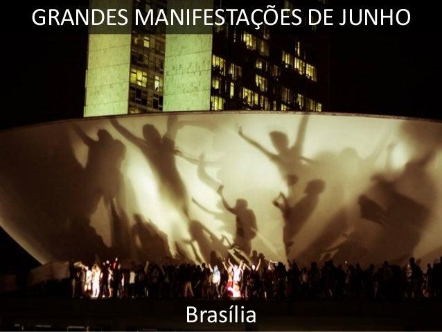 GRANDES MANIFESTAÇÕES DE JUNHO  RECIFE
