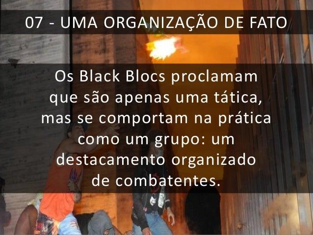 GUERRA  Cartaz divulgado pelo Black Bloc SP