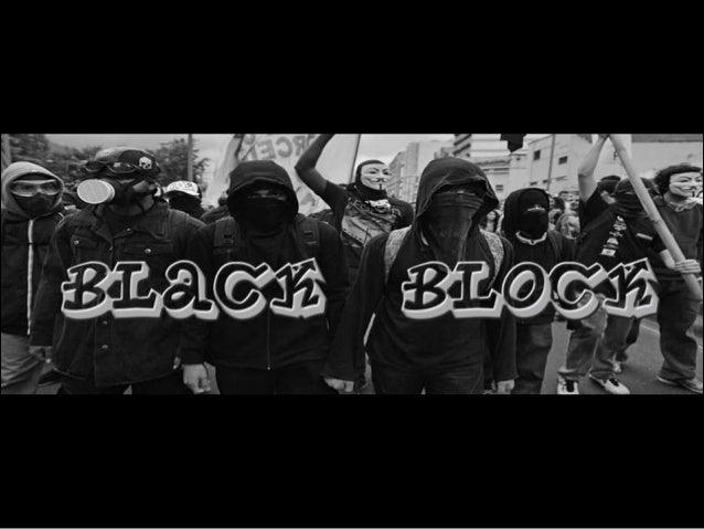 Palavras de ordem partidárias e eleitorais assumidas pelos Black Blocs...