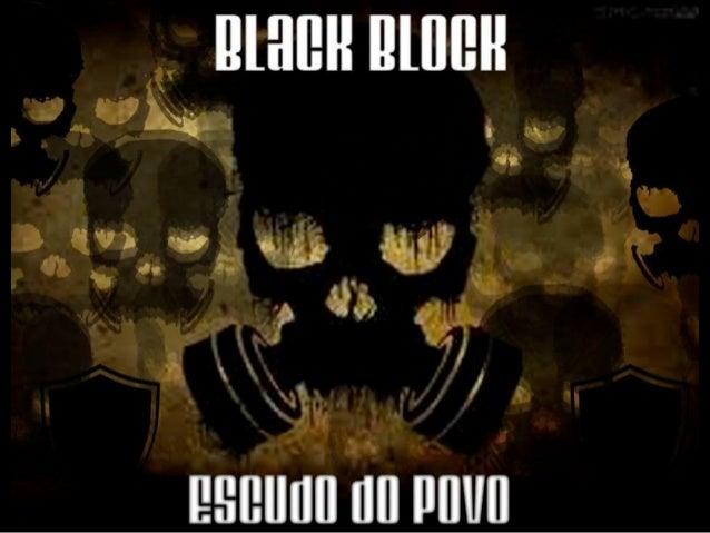 Cartaz elaborado e divulgado pelo Black Bloc SP