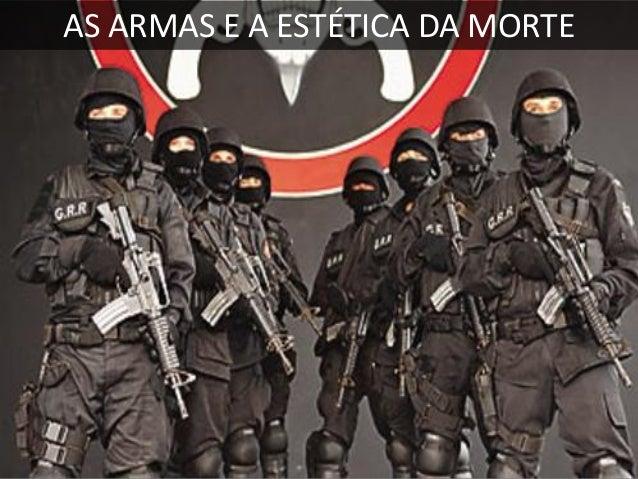 A MÁSCARA DA VIOLÊNCIA ESTATAL