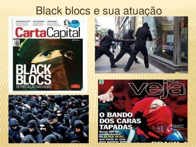 Black blocs e sua atuação