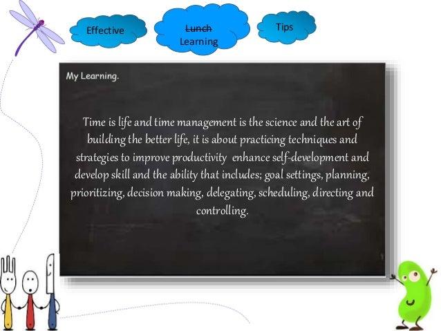 Time Management Slide 3