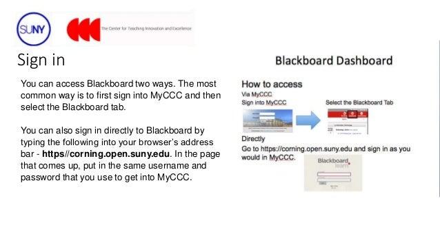 Blackboard Dashboard