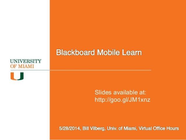 Slides available at: http://goo.gl/JM1xnz